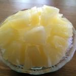 自宅 パイナップル氷