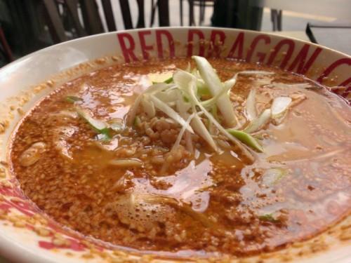 紅胡麻担々麺