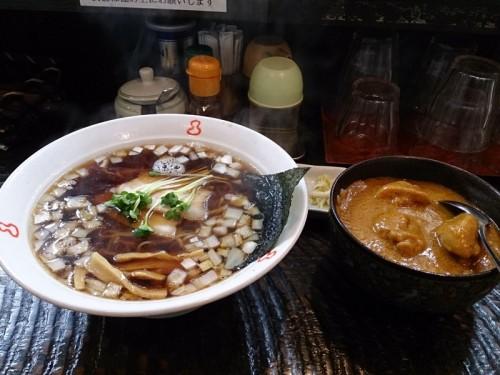 ミニカレー丼ラーメン
