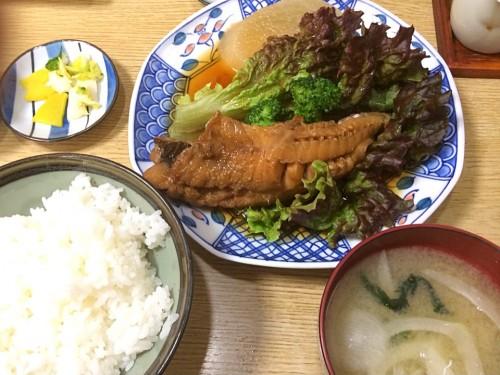 金目鯛煮付定食