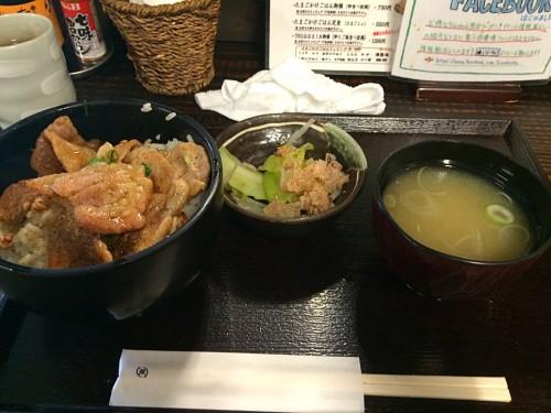 富士桜ポーク丼定食