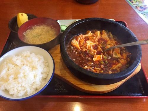 石鍋麻婆豆腐定食