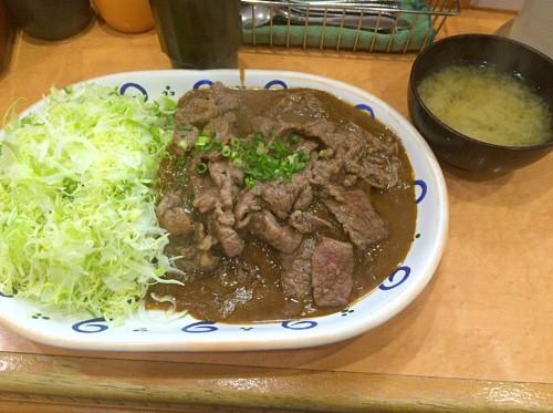 おすすめ(焼肉カレー)