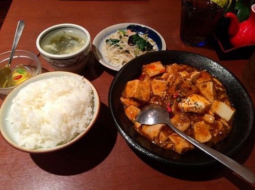 黒胡椒のま~ぼ~豆腐セット
