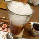 上島珈琲店 エチオピア・モカのコーヒーグラニータ