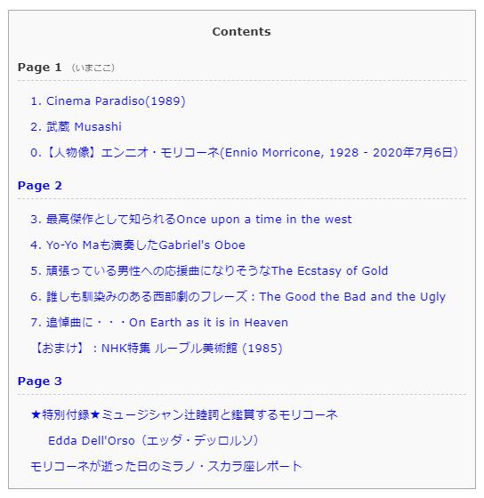 ページ分割記事用・全ページ見出し表示
