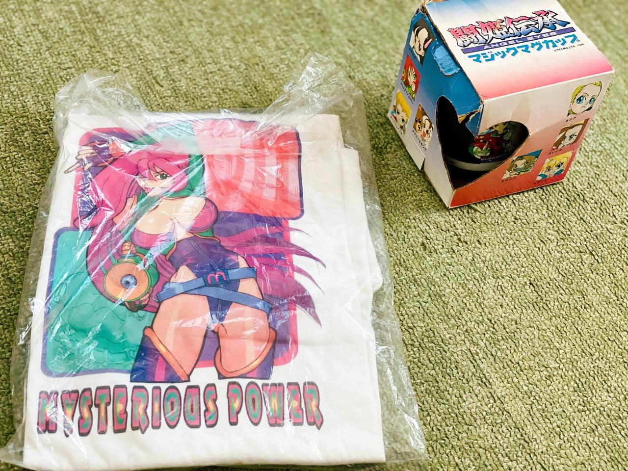 闘姫伝承Tシャツ、マグカップ
