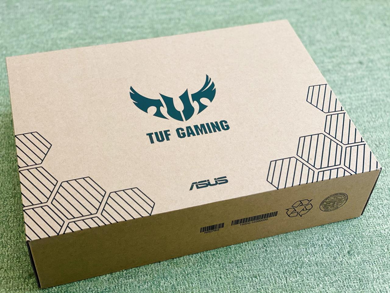 TUF Gaming A15 FA506II 外箱